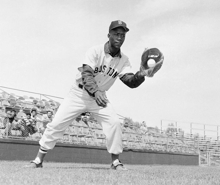 The Red Sox were the last team in the majors to sign an African-American player, infielder Pumpsie Green in 1959. (AP)