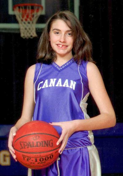This 2010 photo provided by the New Hampshire State Police shows Celina Cass in a basketball team uniform in Canann, Vt. (AP)