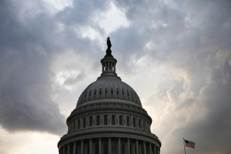 A budget deal passes in the Senate on Tuesday, after a fraught bipartisan vote in the House on Monday. (AP)