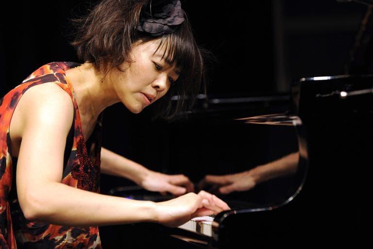 Jazz composer and pianist Hiromi Uehara will play at Newport Jazz Festival Saturday. (AP)