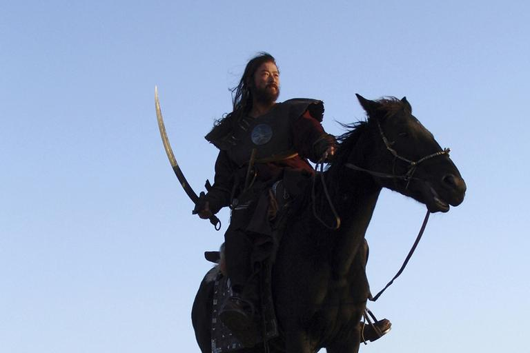 """Tadanobu Asano plays Mongol conqueror Genghis Khan, in Kazakhstan's Oscar-nominated epic """"The Mongol"""", directed by Russia's Sergei Bodrov. (AP)"""