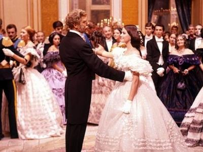 """A scene from Luchino Visconti's epic film """"The Leopard (Il gattopardo)"""" (Courtesy MFA)"""