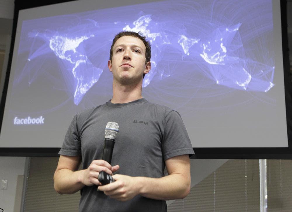 CEO Mark Zuckerberg at Facebook headquarters in Palo Alto, California in July. (AP)