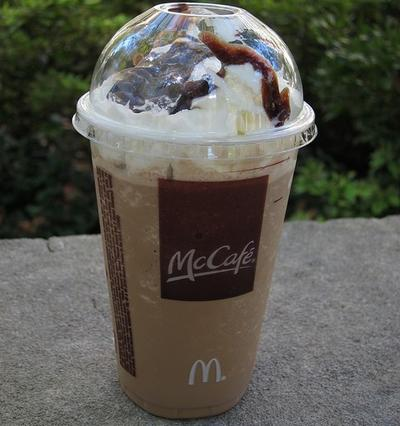 McDonald's now automatically adds whipped cream to all of its shakes.