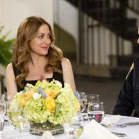 """In this publicity image released by TNT, Sasha Alexander, left, and Angie Harmon are shown in a scene from the series """"Rizzoli & Isles."""" (AP)"""