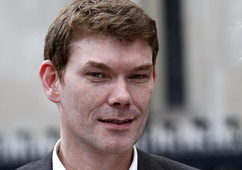 Gary McKinnon, accused of hacking into U.S. military computers, leaves a High Court hearing in 2009 in the U.K. (AP)