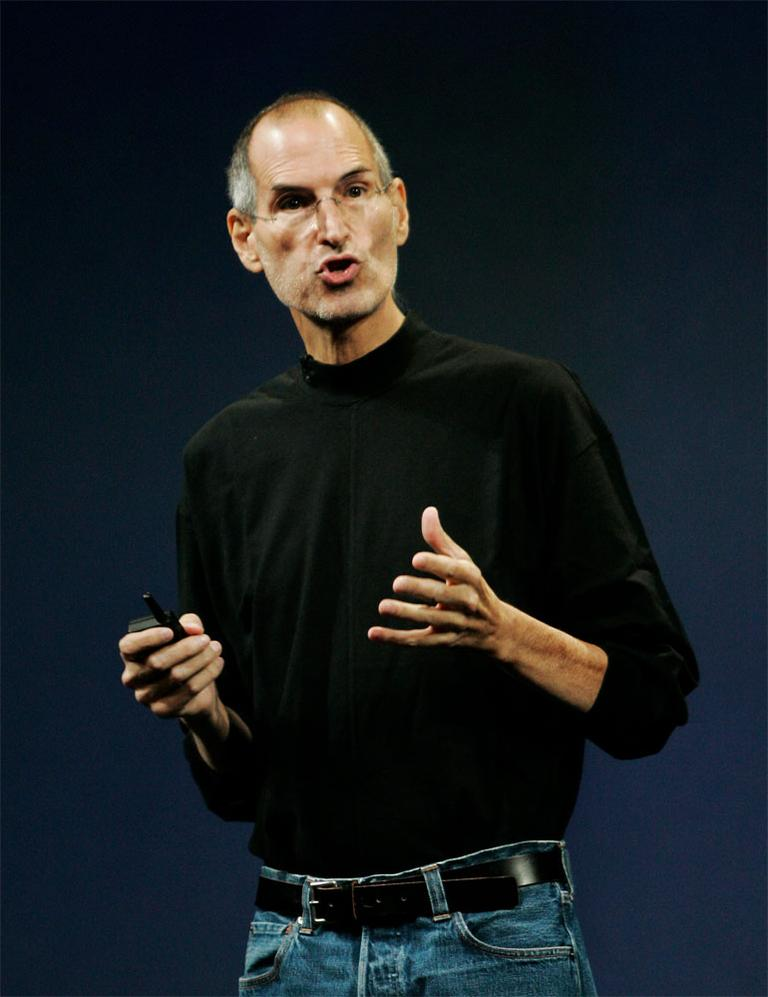 Steve Jobs, in a 2009 file photo (AP)
