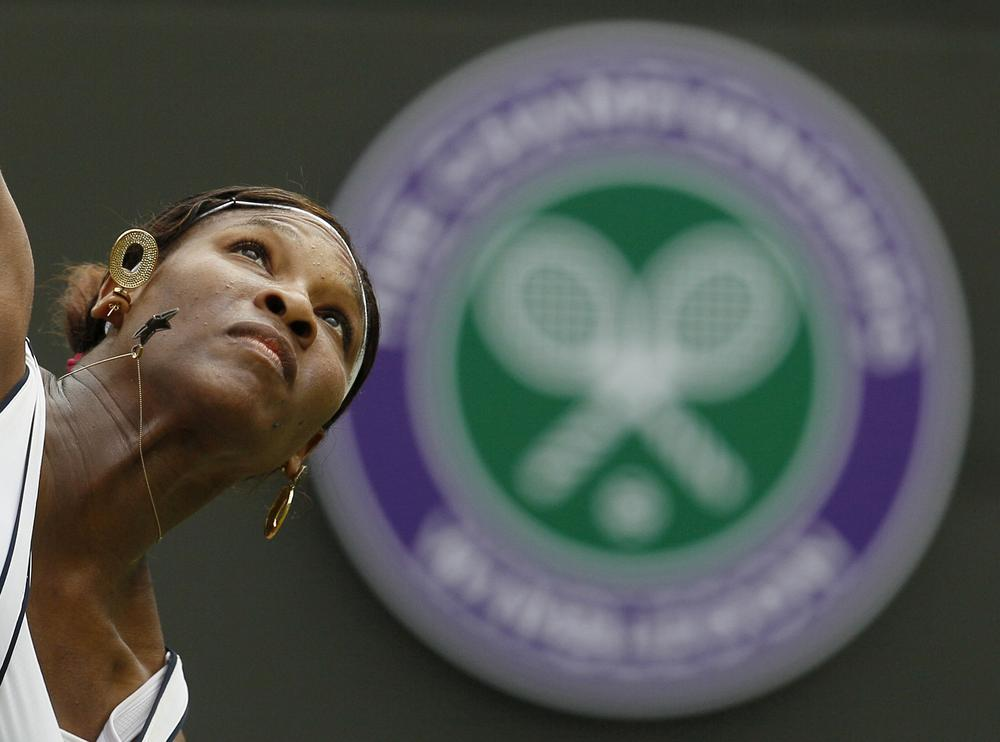 """Serena Williams lost in the fourth round at the 2011 Championship at Wimbledon. Last year, her efforts were recorded in verse by an """"official"""" poet. (AP)"""