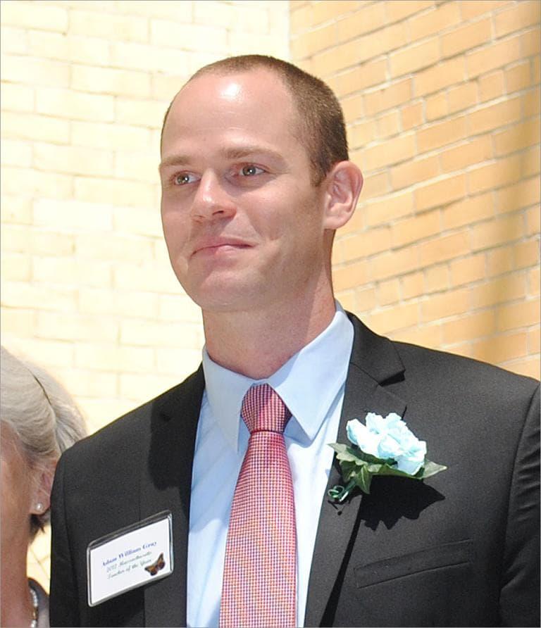 In June, Adam Gray was named Massachusetts Teacher of the Year. (Courtesy Boston Public Schools)