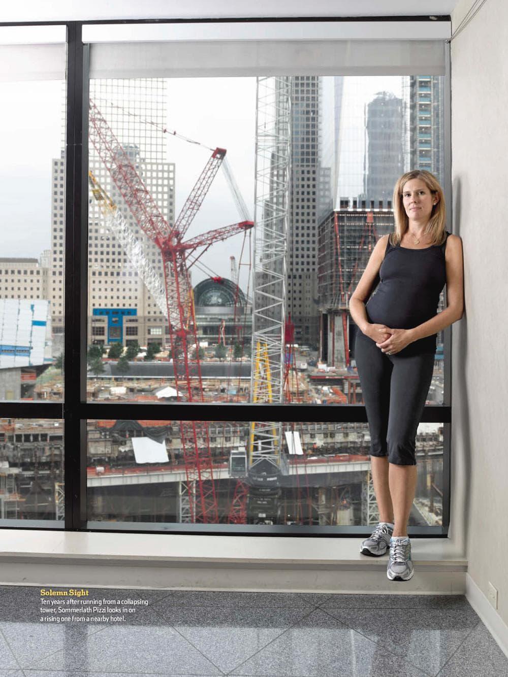 Ann Sommerlath Pizzi shared her experiences after 9/11 in Runner's World Magazine. (Grant Delin/Runner's World)