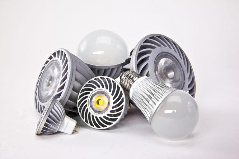 LED light bulbs made by the Lighting Science Group (AP)