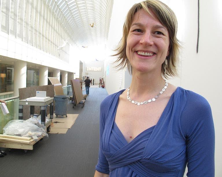 Jen Mergel, senior curator of contemporary art at the MFA (Andre Shea/WBUR)