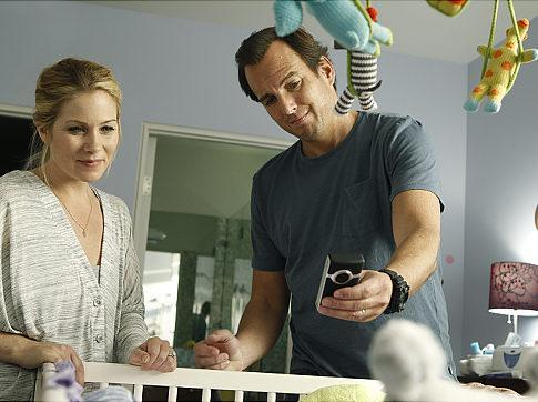 """Christina Applegate and Will Arnett play new parents in the NBC show """"Up All Night."""" (Trae Patton/NBC)"""