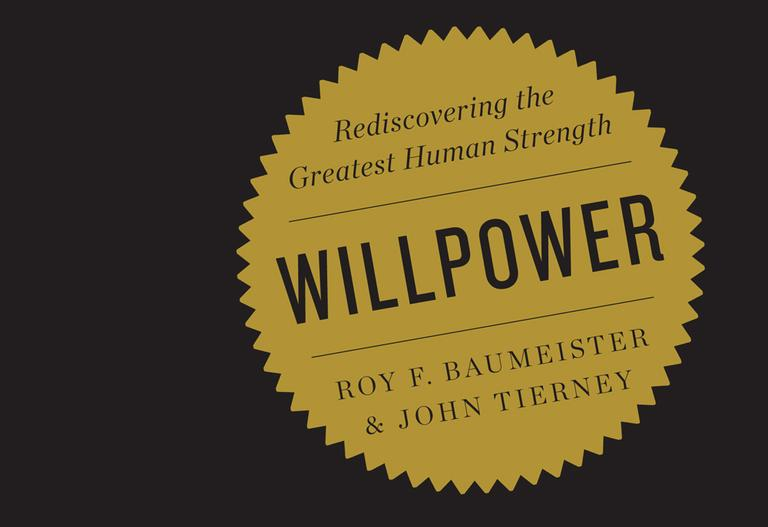 "In this book cover ""Willpower: Rediscovering the Greatest Human Strength,"" by Roy F. Baumeister and John Tierney, is shown. (AP)"
