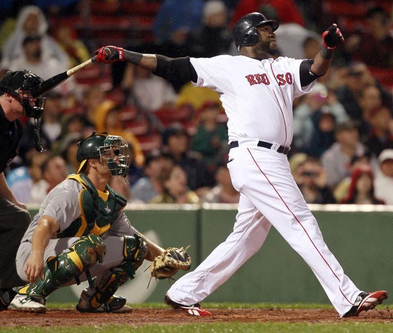The Red Sox' David Ortiz (AP)