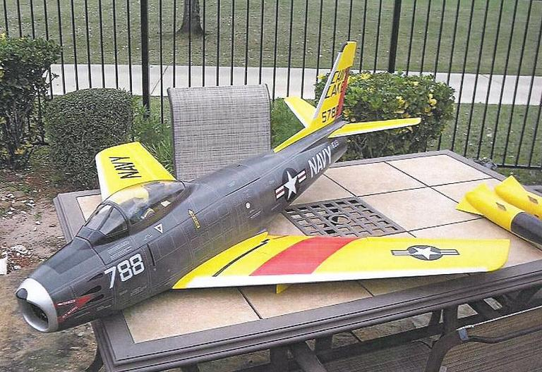 This remote-controlled aircraft is similar to the model Ferdaus was planning to use to fill with explosives and detonate at the U.S. Capitol building and the Pentagon. (Courtesy U.S. Attorney's Office)