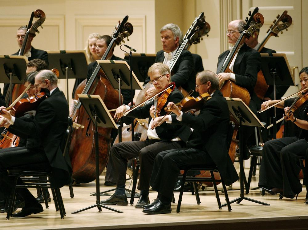 The Boston Symphony Orchestra playing at Carnegie Hall. (AP)