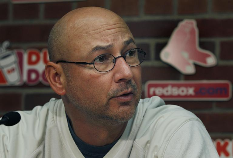 Red Sox manager Terry Francona (AP)