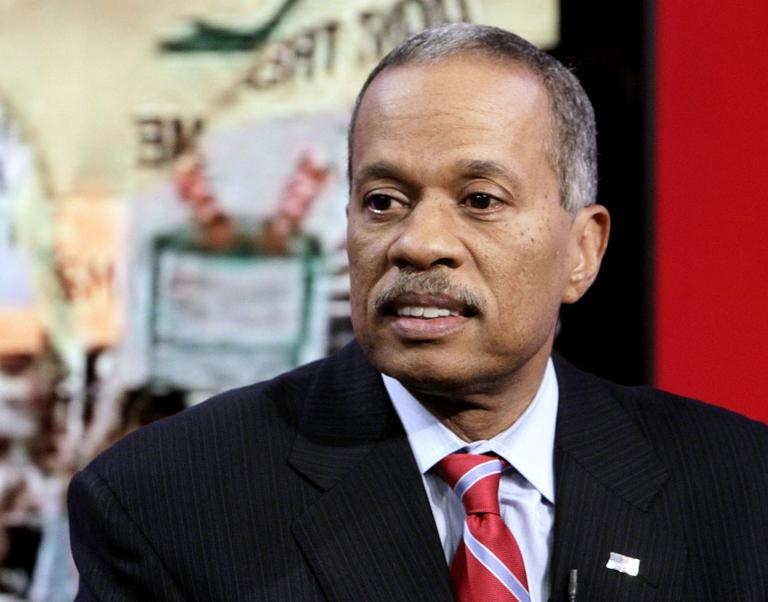 """News analyst Juan Williams appears on the """"Fox & friends"""" television program in New York, Thursday, Oct. 21, 2010. (AP)"""