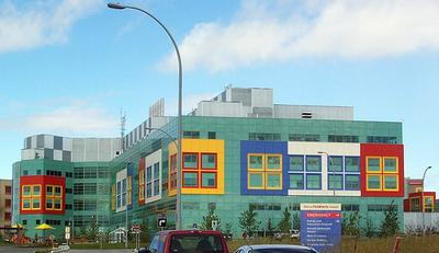 A children's hospital in Calgary
