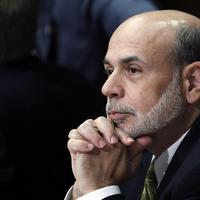 U.S. Federal Reserve Chairman Ben Bernanke (pictured here at a recent IMF/World bank meeting) will testify before Congress today on the state of the U.S. economy. (AP)