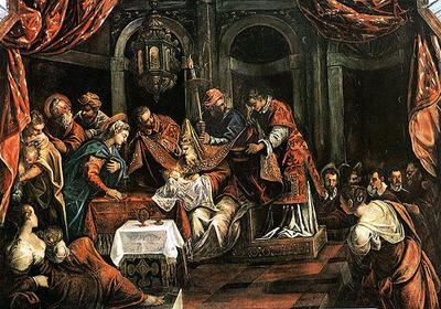 The Circumcision by Tintoretto