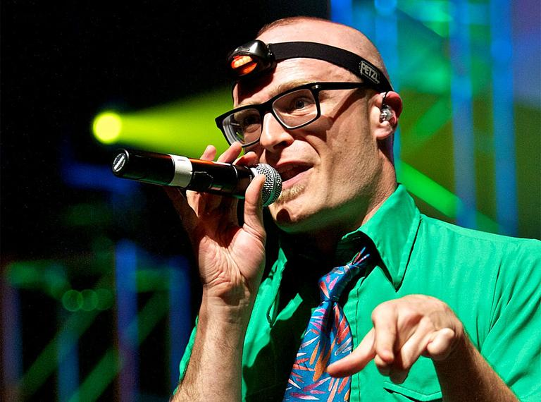 "Rapper MC Frontalot is at the forefront of a hip-hop genre that's being called ""nerdcore."" (Photo courtesy: Adam Merrifield, Flickr/Creative Commons)"
