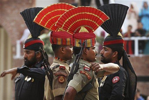Trade could soon move more freely across the Wagah Border between Pakistan and India, after Pakistan moved today to normalize trade relations with longtime enemy. (AP)