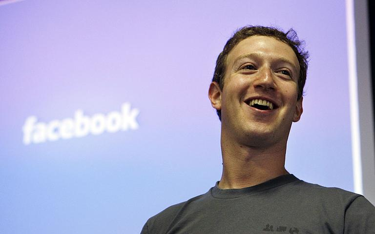 """Facebook founder Mark Zuckerberg told a crowd at Stanford University over the weekend that if he had to do it all over again, he would have """"just stayed in Boston."""" AP Photo/Paul Sakuma"""