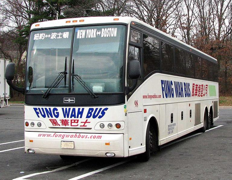 A Fung Wah Bus. (Toytoy)