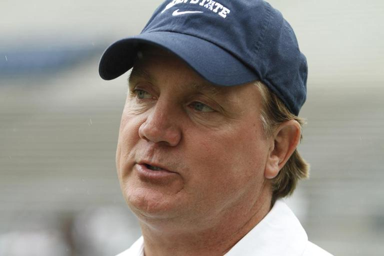 New Penn State coach Tom Bradley (AP)