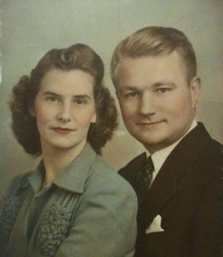 Margaret and Raymond Ashlock, parents of Here & Now producer Alex Ashlock. Raymond fought in World War II and Korea. (Alex Ashlock)