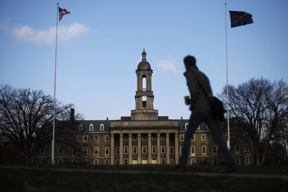 The Old Main building on the Penn State campus. (AP)