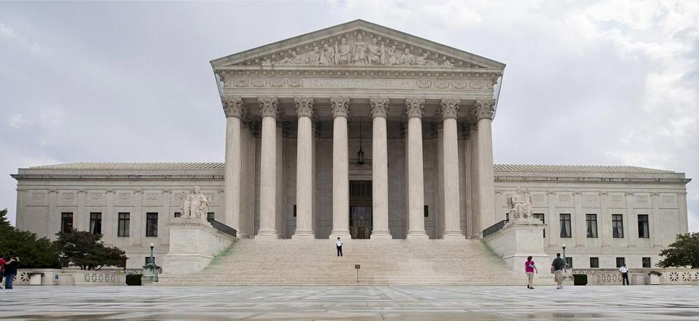 The nine justices of the Supreme Court will hear a challenge to President Barack Obama's health care overhaul. (AP)