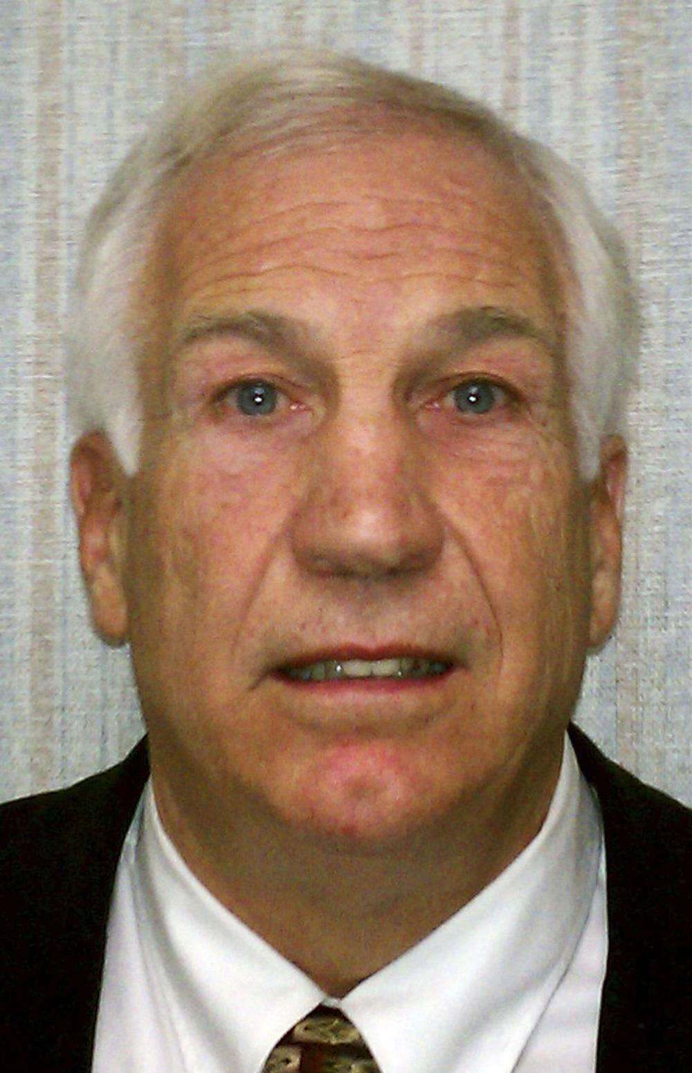 "Former Penn State football defensive coordinator Gerald ""Jerry"" Sandusky. (AP/Pennsylvania Office of Attorney General)"