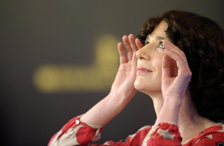 Actress Miranda July in Berlin. (AP)