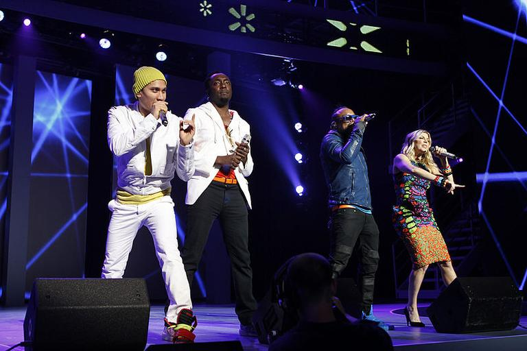 The Black Eyed Peas. (Flickr/Walmart Stores)