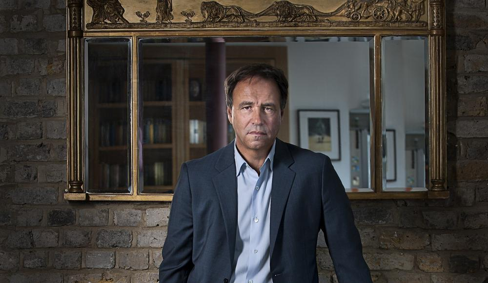 Author Anthony Horowitz. (Adam Scourfield)