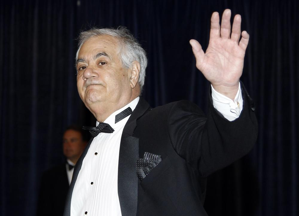 Rep. Barney Frank, D-Mass., seen at the White House Correspondents Dinner earlier this year, plans to resign from Congress after 16-terms in office. (AP)