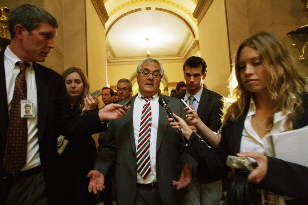 "Former Massachusetts Congressman Barney Frank is out with a new memoir. It's called ""Frank: A Life in Politics from the Great Society to Same-Sex Marriage."" (AP)"