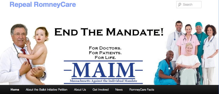 From the Massachusetts Against the Mandate Webpage