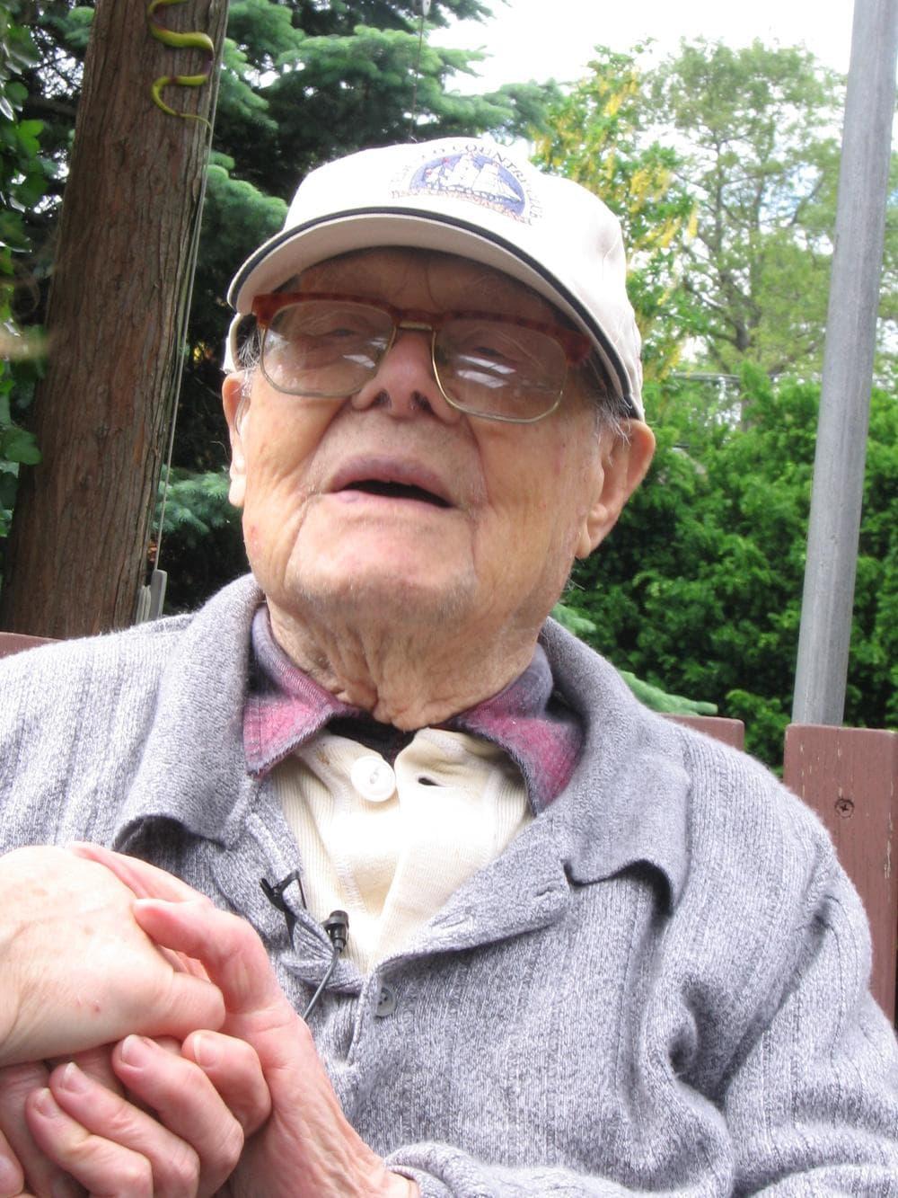 Tony Pierro at the age of 110 (Courtesy Will Everett)
