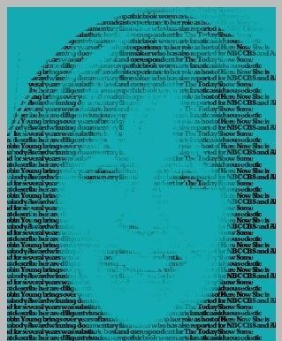 """Get Wordified (not yet in the new dictionary)! This is Robin Young's portrait, as generated by the American Heritage Dictionary's Web site """"You Are Your Words."""""""