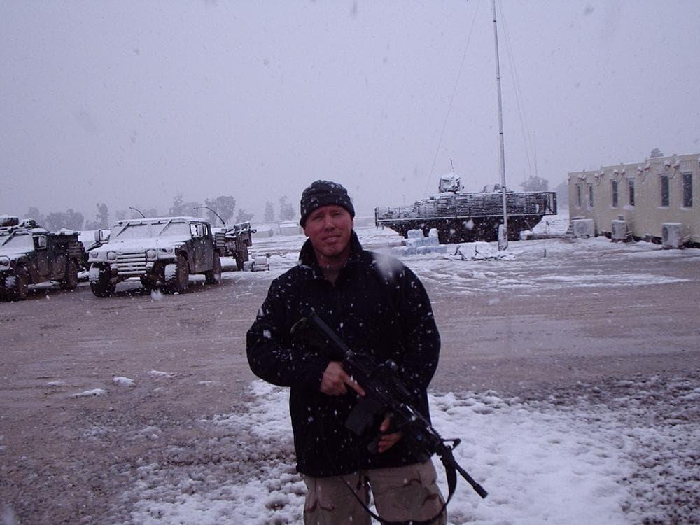 Veteran Brian Turner (Photo Tom Bosch)