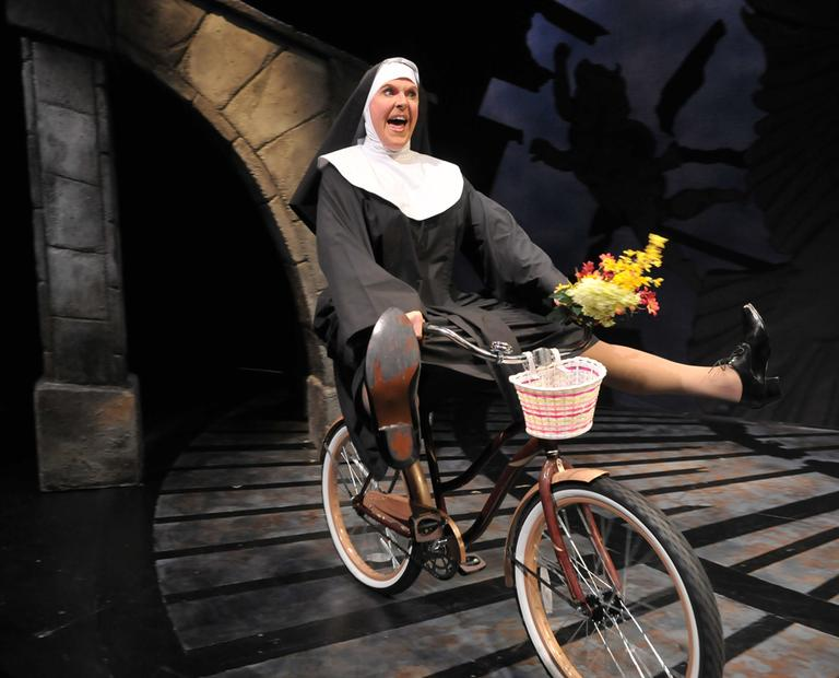 """Jeffrey Roberson aka Varla Jean Merman as Mother Superior in SpeakEasy Stage Company's """"The Divine Sister."""" (Courtesy of SpeakEasy Stage Company)"""