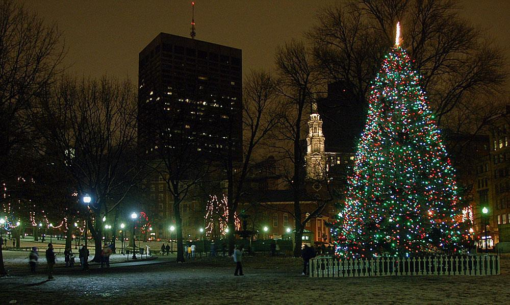 Boston To Ready For The Holidays With Tree Lighting On The