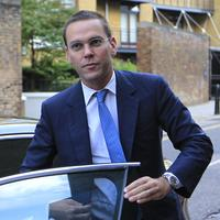 Chief executive of News Corporation Europe and Asia, James Murdoch arrives at News International headquarters in London in July. (AP)