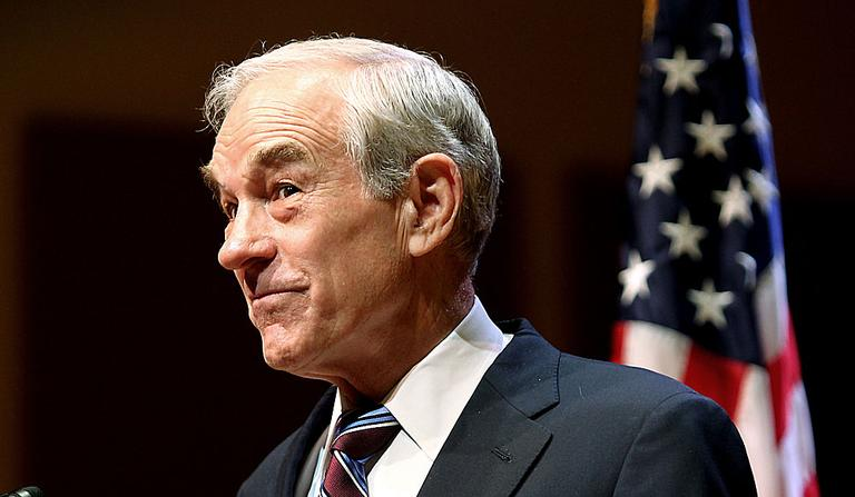 Republican presidential candidate Rep. Ron Paul, R-Texas, during a November campaign appearance in Keene, N.H. (AP)