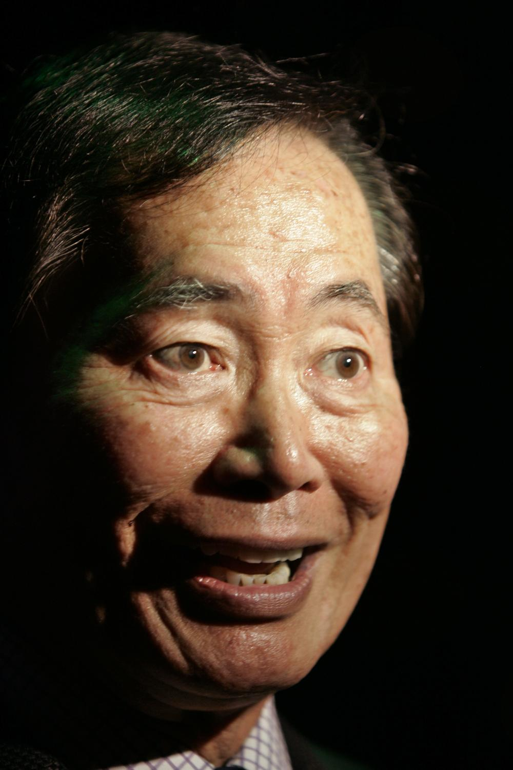 Actor George Takei, who played the role of helm officer Sulu in the original television series, Star Trek. (AP)