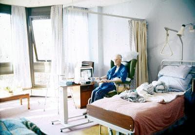 A London hospice patient